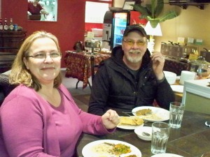 Bill and I at 'Curry Et Cetera'